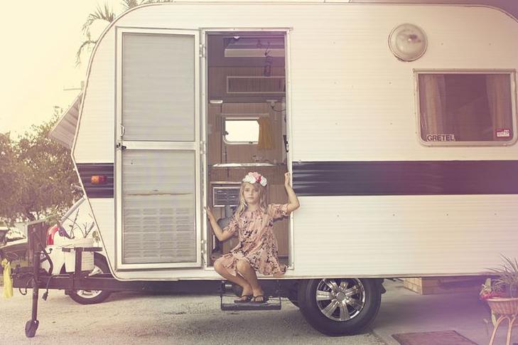 Betsy Moyer Seven Wanders vintage camper